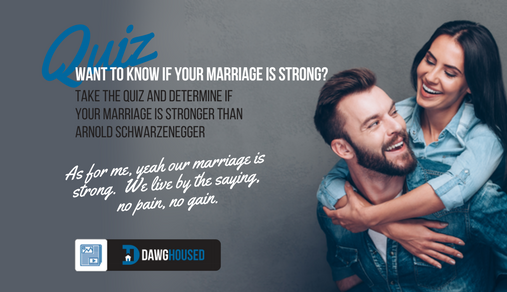 Online Quiz: How Strong Is Your Marrige? | DawgHoused com