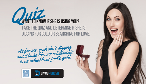 is she a gold digger quiz