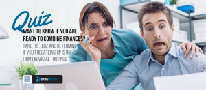 Free online personality quiz: Are you ready to combine finances